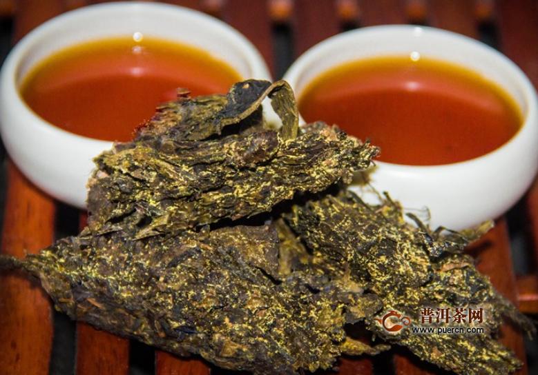 收藏几年的黑茶好喝
