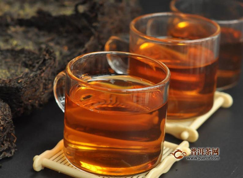 饮用黑茶的作用简单介绍